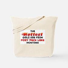 Hot Girls: Fort Peck La, MT Tote Bag