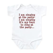 My Turn To Sing Infant Bodysuit