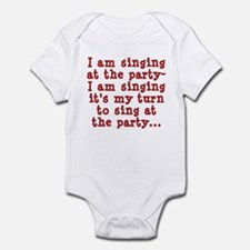 My Turn To Sing Infant Bodysuit