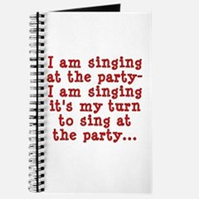 My Turn To Sing Journal