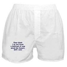 The Gospel Boxer Shorts