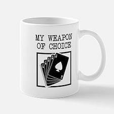 Poker - WeaponOfChoice Mug