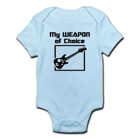 Musician - WeaponOfChoice Infant Bodysuit