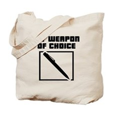 Writer - WeaponOfChoice Tote Bag