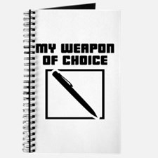 Writer - WeaponOfChoice Journal