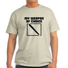 Writer - WeaponOfChoice T-Shirt