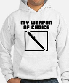 Writer - WeaponOfChoice Hoodie