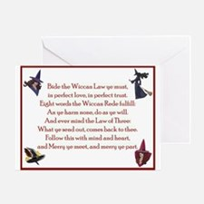 Wiccan Rede 2 Greeting Card