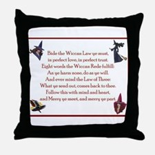 Wiccan Rede 2 Throw Pillow