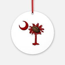 South Carolina Football Ornament (Round)