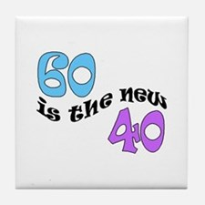 60 THE NEW 40 Tile Coaster