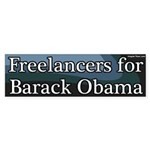 Freelancers for Barack Obama Bumper Sticker