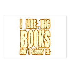 I Like Big Books Postcards (Package of 8)