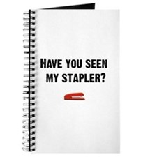 Have you seen my stapler? Journal