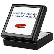 Case of the Monday's Keepsake Box