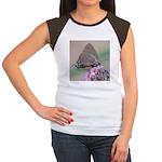 Great Purple Hairstreak Women's Cap Sleeve T-Shirt