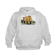 """""""Do you want fries on that?"""" Pittsburgh Hoodie"""