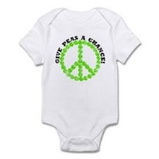Peas a Chance (Distressed) Infant Bodysuit
