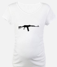 Rifle On A Shirt Shirt