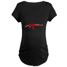 Rifle On A Shirt T-Shirt