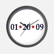 1-20-09 Obama Inauguration Day Wall Clock