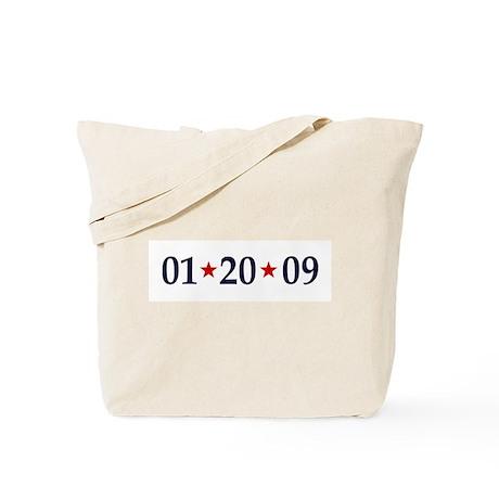 1-20-09 Obama Inauguration Day Tote Bag