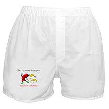Restaurant Manager Boxer Shorts