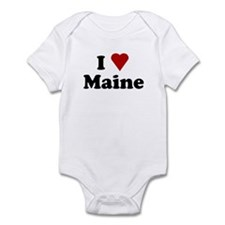 I Love Maine Infant Bodysuit