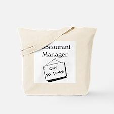 Restaurant Manager Tote Bag
