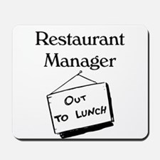 Restaurant Manager Mousepad