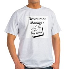 Restaurant Manager T-Shirt