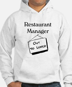 Restaurant Manager Hoodie