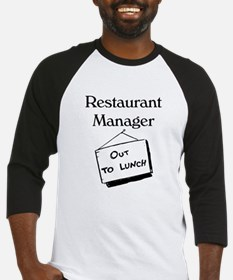 Restaurant Manager Baseball Jersey