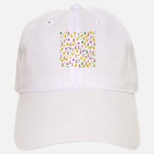 Easter - chick and tulips pattern Baseball Baseball Cap