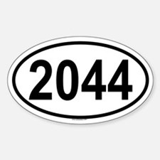2044 Oval Decal