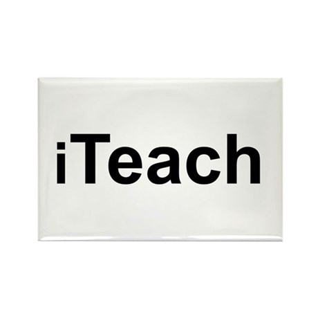 iTeach Rectangle Magnet (100 pack)