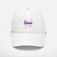 Emma - Love Hearts Baseball Baseball Cap