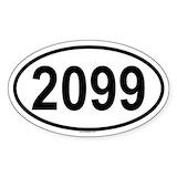 2099 Bumper Stickers