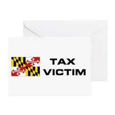 MD. TAX VICTIM Greeting Card