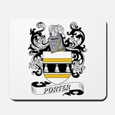 Porter Coat of Arms Mousepad