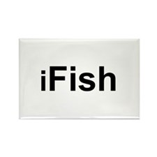 iFish Rectangle Magnet