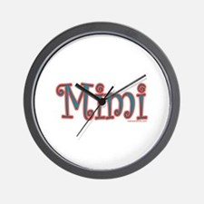 CLICK TO VIEW MIMI Wall Clock