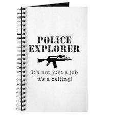 Police Explorer Calling Journal