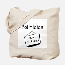 Politician Tote Bag