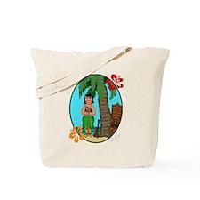 Hula Baby Tote Bag