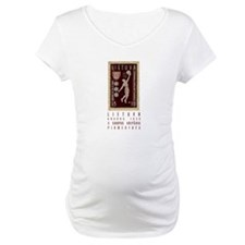 Lithuania Basketball Stamp Shirt
