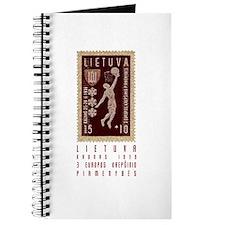 Lithuania Basketball Stamp Journal