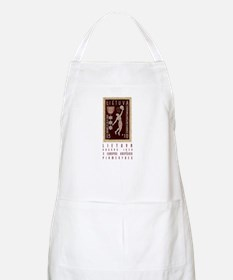 Lithuania Basketball Stamp BBQ Apron