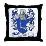 Prevost Coat of Arms Throw Pillow