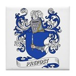 Prevost Coat of Arms Tile Coaster